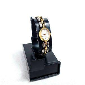 Armitron 25 45745 5FB Watch Gold Tone Quartz